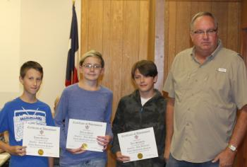 MS Student recognition