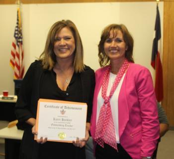 ES Teacher Recognition