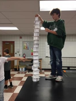 Card-Stacking Towers