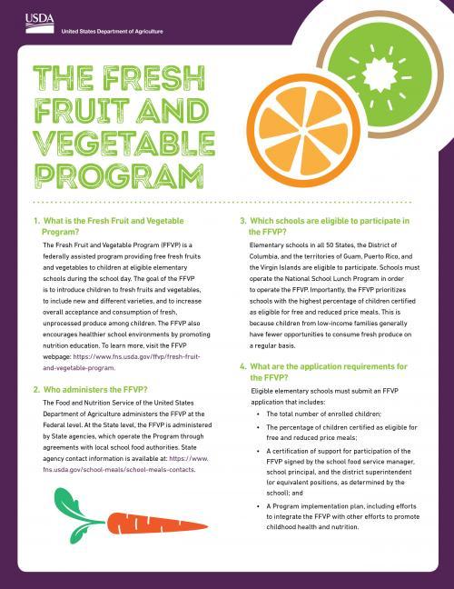 Fresh Fruit and Veggie Grant