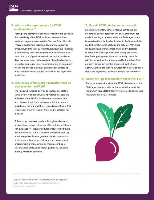 Fresh Fruit and Veggie Grant 2