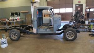 50 Chevy on S-10 Frame