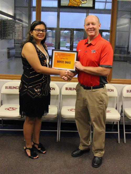 October 2018 Student of the Month