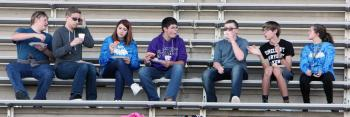 FCA members at Fields of Faith