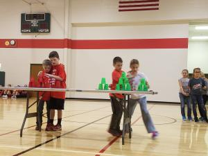 Tate and Lincoln vs Landon and Alexa in partner stacking.