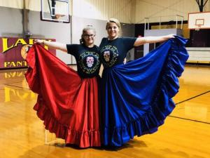 Brandi & Cassie - Guard Skirts