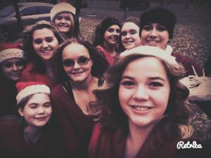 Christmas Parade Color Guard 2016