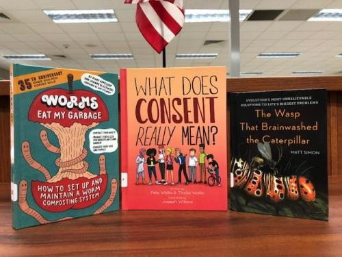 more non-fiction titles for students