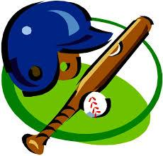 baseball bat, helmet, ball