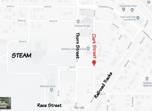 Clark Street Map