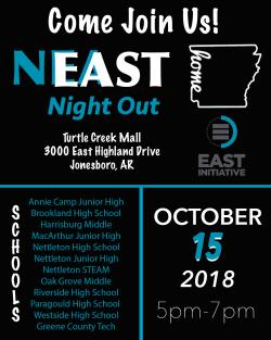 Nettleton Hosts Northeast Arkansas EAST Night Out