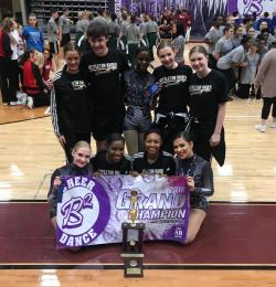 Raider Dance Takes Top Honors at the B2 Dance Competition