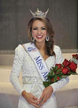 Claudia Raffo Wins Miss Arkansas!