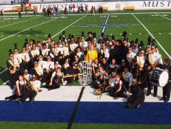 Raider Band Makes a Clean Sweep at the Forrest City Invitational Marching Contest