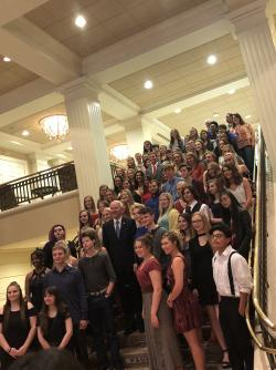 Students Honored at Governor's Art Exhibition