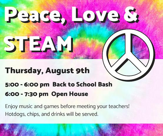 Back to School Bash and Open House Announcement