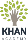 Image that corresponds to Khan Academy has videos explaining how to do different math skills