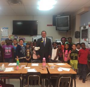 Mayor Perrin visit!