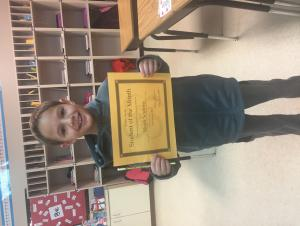 Noah Scutero is our November Student of the Month!