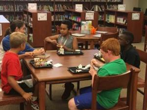 4th grade boys first book club meeting