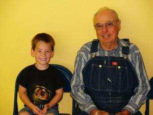 Grandparent's Day 2010 - Logan Causey