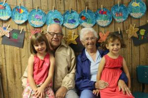 Grandparent's Day 2014 - Allie and Laurie Whitney