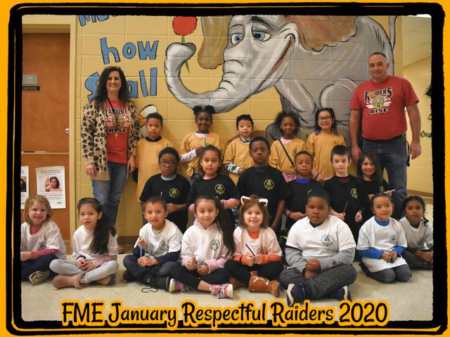 January Respectful Raiders