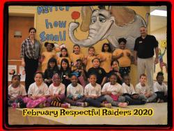 February Respectful Raiders