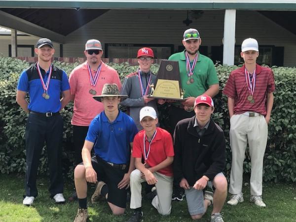 North Hopkins Golf Champions 2018