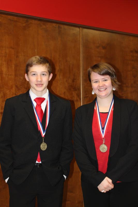 Jonathan and Jessica Hatley take District CX Debate Title