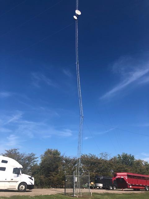 North Hopkins ISD Tower Damage