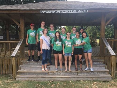 North Hopkins FFA, FCCLA, and Beta volunteer at back to school fair