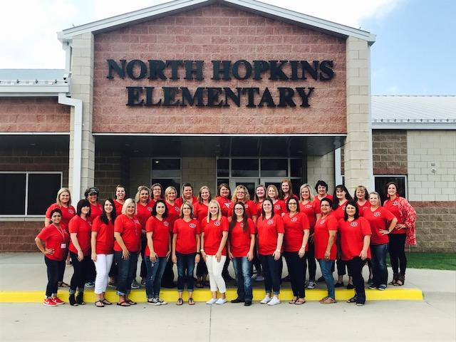 2017-2018 North Hopkins Elementary Faculty & Staff
