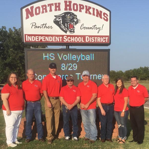 North Hopkins Board 2019