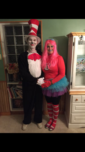 Dr. Seuss and Thing 1