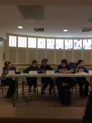 Quiz Bowl Practice Tournament 2017