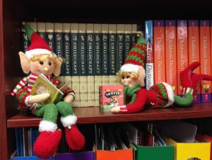 Elves on the Shelf Reading