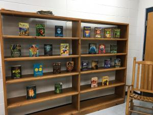 26 new books added to our Middle School Library!  Thank you 5th and 6th Grade Parents!