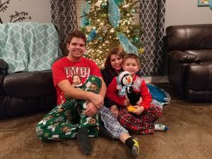 Ethan, Aubrey, Desi December 2016
