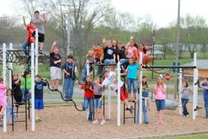 Fun times on the playground