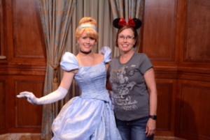 Magic Kingdom with Cinderella
