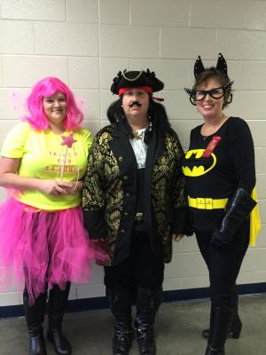 Red Ribbon Week with Third Grade Teachers