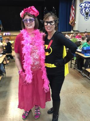 Janie and Batgirl