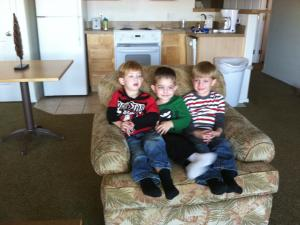 Brayden, Desi, and Eli!