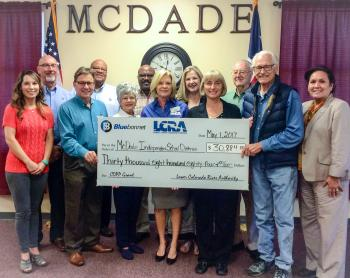 LCRA Grant to McDade ISD for new playground