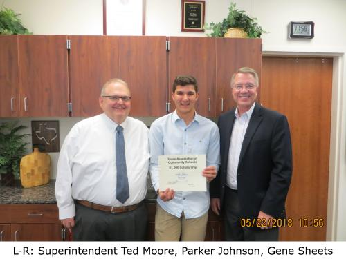 Tacs SCholarship Parker Johnson