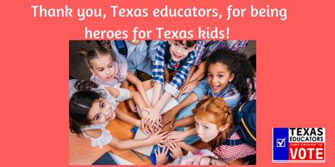 texas educator vote