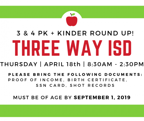 TWISD PK & K ROUND UP - APRIL 18th