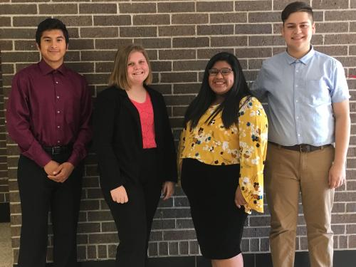 2018-2019 DECA Officers