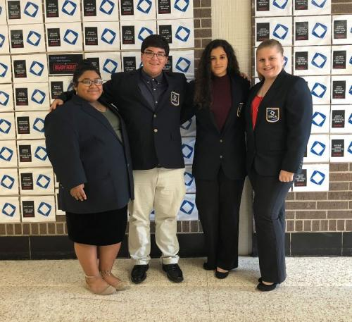 DECA Officers 2019-2020